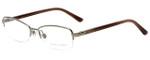 Ralph Lauren Designer Eyeglasses RL5055-9101 in Brown 53mm :: Rx Single Vision