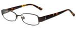 Ralph Lauren Designer Eyeglasses RAP3324-RC004 in Brown 49mm :: Progressive