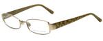 Ralph Lauren Designer Eyeglasses RL5064-9116 in Brown 49mm :: Progressive