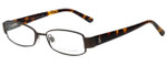 Ralph Lauren Designer Eyeglasses RAP3324-RC004 in Brown 49mm :: Rx Bi-Focal