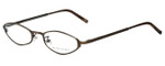 Ralph Lauren Designer Reading Glasses RL1378-2Y0 in Brown 49mm