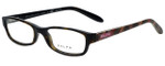 Ralph Lauren Designer Eyeglasses RA7040-1072 in Dark Havana 51mm :: Rx Single Vision