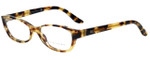 Ralph Lauren Designer Reading Glasses RL6068-5004 in Spotted Tortoise 53mm