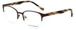 Lucky Brand Designer Eyeglasses D105-Brown in Brown 53mm :: Custom Left & Right Lens