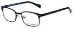 Lucky Brand Designer Eyeglasses D803-Black in Black 46mm :: Custom Left & Right Lens