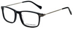 Lucky Brand Designer Eyeglasses D402-Black in Black 51mm :: Progressive