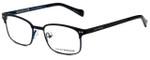 Lucky Brand Designer Eyeglasses D803-Black in Black 46mm :: Progressive