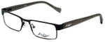 Lucky Brand Designer Reading Glasses Behave-Black in Black 46mm