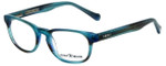 Lucky Brand Designer Reading Glasses Dynamo-Aqua in Aqua 45mm