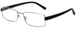 Charmant Designer Eyeglasses CH10741 in Silver 57mm :: Custom Left & Right Lens