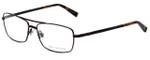 John Varvatos Designer Eyeglasses V148 in Antique Brown 56mm :: Custom Left & Right Lens