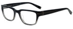 John Varvatos Designer Eyeglasses V350 in Black Gradient 50mm :: Progressive