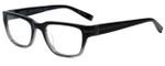 John Varvatos Designer Eyeglasses V350 in Black Gradient 56mm :: Progressive