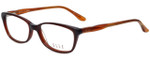 Elle Designer Eyeglasses EL13339-BR in Brown 53mm :: Custom Left & Right Lens