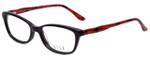 Elle Designer Eyeglasses EL13339-VO in Violet 53mm :: Custom Left & Right Lens