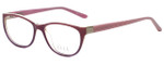 Elle Designer Eyeglasses EL13394-VO in Violet 53mm :: Custom Left & Right Lens