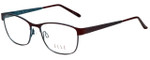 Elle Designer Eyeglasses EL13397-BU in Burgundy 51mm :: Custom Left & Right Lens