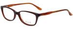 Elle Designer Eyeglasses EL13339-BR in Brown 53mm :: Rx Single Vision