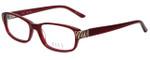 Elle Designer Eyeglasses EL13383-RE in Red 52mm :: Progressive
