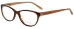 Elle Designer Eyeglasses EL13394-BR in Brown 53mm :: Progressive