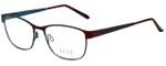 Elle Designer Eyeglasses EL13397-BU in Burgundy 51mm :: Progressive