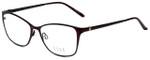 Elle Designer Eyeglasses EL13406-BU in Burgundy 53mm :: Progressive
