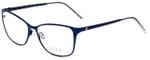 Elle Designer Eyeglasses EL13406-NV in Navy Blue 53mm :: Progressive