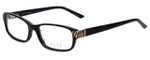 Elle Designer Reading Glasses EL13383-HV in Havana 52mm