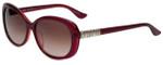 Elle Designer Sunglasses EL14809-PU in Purple with Rose Gradient Lens