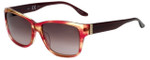 Elle Designer Sunglasses EL14827-PK in Pink with Brown Gradient Lens