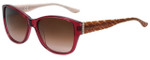 Elle Designer Sunglasses EL14828-PU in Purple with Brown Gradient Lens