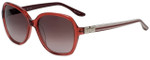 Elle Designer Sunglasses EL14832-PK in Pink with Rose Gradient Lens