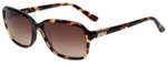 Elle Designer Sunglasses EL14836-HV in Havana with Brown Gradient Lens