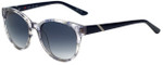 Elle Designer Sunglasses EL14839-BL in Blue with Grey Gradient Lens