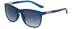 Elle Designer Sunglasses EL14846-GN in Blue Green with Blue Gradient Lens