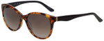 Elle Designer Sunglasses EL14849-BR in Red with Brown Gradient Lens