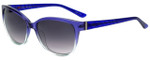 Elle Designer Sunglasses EL14851-PU in Purple with Purple Gradient Lens