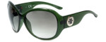 Elle Designer Sunglasses EL18922-GN in Green with Green Gradient Lens