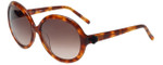 Elle Designer Sunglasses EL18973-TT in Tortoise with Brown Gradient Lens