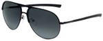 Police Designer Sunglasses Race 1 in Matte Black with Grey Lens