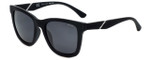 Police Designer Sunglasses Speed 1 in Rubber Black with Grey Lens