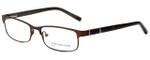 Jones New York Designer Eyeglasses J326 in Dark Brown 53mm :: Custom Left & Right Lens