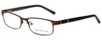 Jones New York Designer Eyeglasses J326 in Dark Brown 56mm :: Rx Single Vision