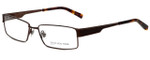 Jones New York Designer Eyeglasses J337 in Brown 54mm :: Rx Single Vision