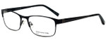 Jones New York Designer Eyeglasses J344 in Black 56mm :: Rx Single Vision