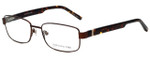 Jones New York Designer Eyeglasses J346 in Brown 56mm :: Rx Single Vision