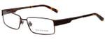 Jones New York Designer Reading Glasses J337 in Brown 57mm