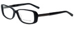 Jones New York Designer Eyeglasses J746 in Black 54mm :: Custom Left & Right Lens