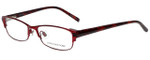 Jones New York Designer Eyeglasses J463 in Red 53mm :: Progressive