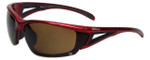 Wilson Designer Sunglasses Draw Masters Collection 1011 in Red with Amber Lens